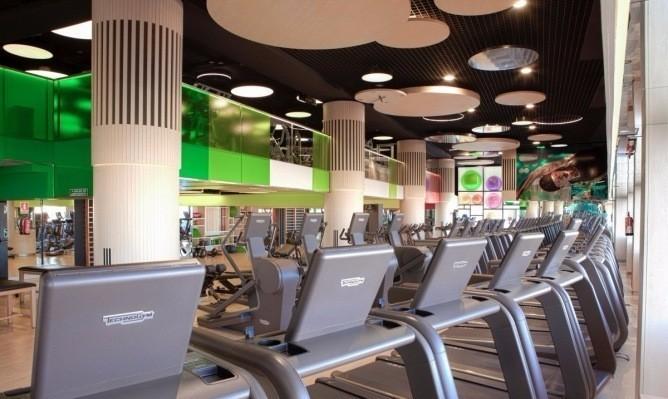 健身房设计;健身房效果图;健身房设计装修