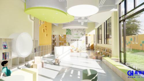 上海幼儿园装修设计哪家好